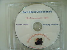 Rare Silent Films  #1 - Aunties Portrait, Nothing To Wear, Her Dressmakers Bills