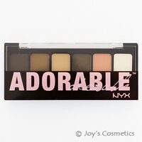 "1 NYX The Adorable Eye Shadow Palette - "" TAS01 ""    *Joy's cosmetics*"