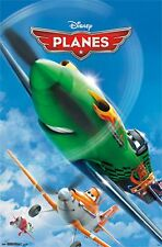 2013 DISNEY PIXAR PLANES ONE SHEET POSTER 22x34 NEW FAST FREE SHIPPING