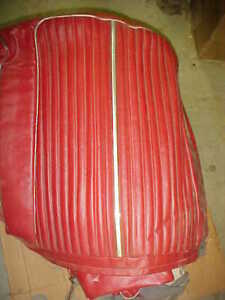 1964 Plymouth NOS MoPar FURY CONVERTIBLE RED SEAT COVERS