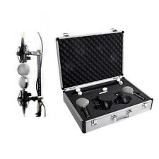 Cascade FAT HEAD Blumlein Stereo Pair Blk/Silver with Case | Atlas Pro Audio