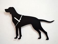 English Pointer Dog Silhouette - Wall Clock