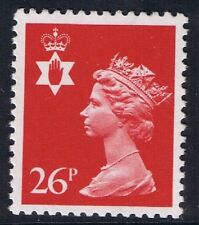 GB QEII Northern Ireland. SG NI60 26p Rosine Type I PP Regional Machin 10% OFF 5