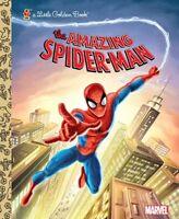 The Amazing Spider-Man (Marvel: Spider-Man) (Little Golden Book) by Frank Berrio