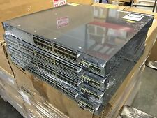 Cisco WS-C3750X-48T-S 48 Port Gigabit Switch w/ C3KX-NM-1G