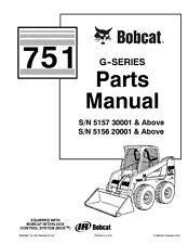 BOBCAT 751 G SERIES PARTS MANUAL REPRINTED COMB BOUND