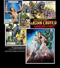John Carter Warlord of Mars - Mens Black T shirt, Great Gift!