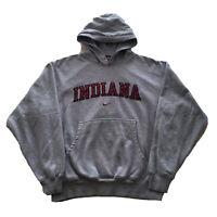 Vintage 90s Nike Hoodie Center Swoosh Mens Medium Indiana University Hoosiers OG