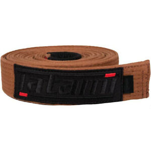 Tatami Fightwear Deluxe BJJ Belt - Brown