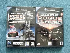 Nintendo Gamecube Star Wars Rogue Leader + Rebel Strike Preview jeu (NTSC USA)