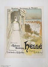 """STEINLEN """"HELLÉ"""" 1896"""