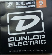 Dunlop nickel wound light gauge guitar strings pack BRAND NEW sealed vci !