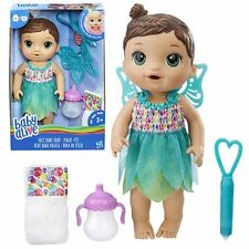 Baby Alive Face Paint Fairy Doll Brunette - Drinks and wets - New in stock