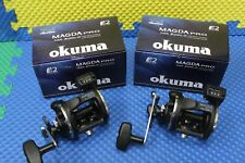 Okuma Magda Pro MA30DLX Left Hand Trolling Reel with Line Counter 2 PACK