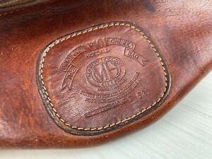 Vintage Ghurka Marley Hodgson Toiletry Holdall Leather Bag Case