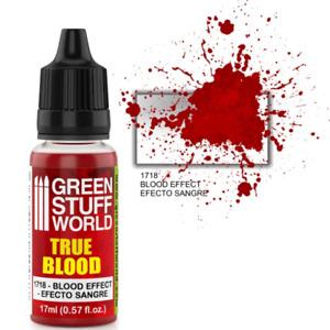 True Blood Special Effect Paint Green Stuff World Modelling Paints 17ml Dropper