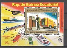 Voitures Guinée Equatoriale (16) bloc oblitéré