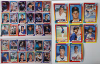1990 Topps Minnesota Twins Team Set of 38 Baseball Cards With Traded