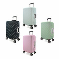 "Twill Elastic Luggage Suitcase Spandex Cover Protector For 18'' 20"" 24'' 28''"