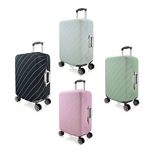 Striped Elastic Luggage Cover Suitcase Protector Scratch Case Cover,3SIZE CHOOSE
