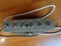 1973 Fender Stratocaster Gray Bottom Pickup good for any Strat from 1969 - 1975.