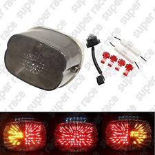 Smoke Brake Turn Signal LED Tail Light For Harley Davidson Sportster 1999-2007