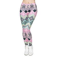 One Size Women Legging Low Waist Slim Sport Casual Leggings Pant Girl's