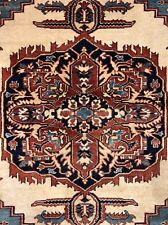 Amazing Afghan - Colorful Kazak Rug - Tribal Geometric Carpet - 6.5 x 8.8 ft.