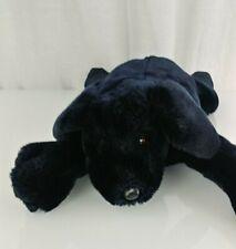 "Folkmanis Black Labrador Lab Puppy Dog Full Body Hand Puppet Plush 20"" Stuffed"