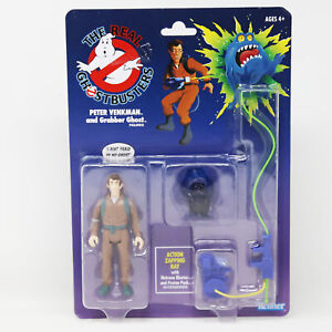 Ghostbusters Kenner Classics Peter Venkman and Grabber Ghost, Ages 4+, NEW!!