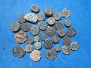 RARE Lot (32)  Umayyad / Abbasid  Islamic Dynasties  Fals