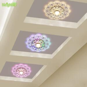 Modern 5W LED Ceiling Light Crystal Hallway Lamps Porch Lighting Beautiful Lamp