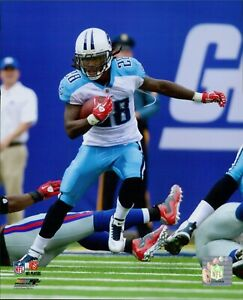 Chris Johnson Tennessee Titans NFL Licensed Unsigned Glossy 8x10 Photo A
