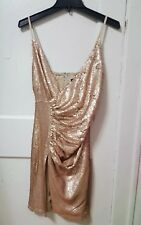 Women's Akira Elsa Sequin Mini Dress Size Medium M NWT