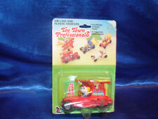 1970s McCrory Toy Town Professionals -  Fire Truck Die Cast Truck - Clown -