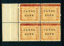 Canal Zone Scott #13 Mint Block (Stock #Cz13-27)