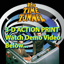 3-D TIME TUNNEL in deep 3-d imagery! *SEE DEMO VIDEO! 60's Sci-Fi TV Show
