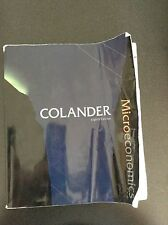 Microeconomics: David C. Colander, Eighth Edition, Paperback(McGraw-Hill Series)