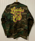 NWOT Louder than life ROCK Unique camouflage military style jacket Mens 2XL XXL