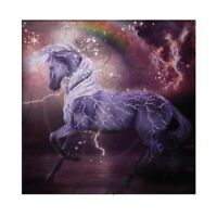 Enesco Trail of the Painted Ponies Storm Rider Canvas Plaque