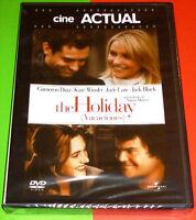 THE HOLIDAY / VACACIONES - English Español Deutsch Italiano DVD R2 Precintada