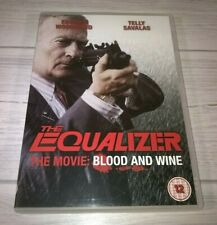 The Equalizer The Movie Blood And Wine Edward Woodward Genuine R2 DVD VGC