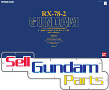 Bandai Perfect Grade RX 78 2 Gundam Parts V Repair PG ZZ Strike 0 Unicorn Spare