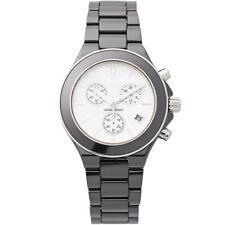 Danish Design IV63Q874 White Dial Chronograph Ceramic Quartz Women's Watch