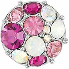 Petite Ginger SnapsVintage Brooch - Pink Gp05-22 Interchangeable Jewelry New!