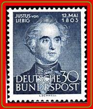 GERMANY 1953 CHEMIST LIEBIG SC.#695 MNH CV.$40.00 SCIENCE