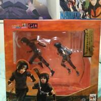 Megahouse G.E.M. Series Naruto Shippuden Uchiha Itachi Sasuke Figure F/S Used