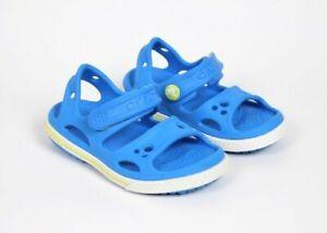 Crocs Crocband ll Blue Sandals Baby Toddler Boys Girls Size 6