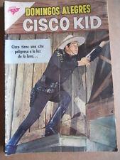 Domingos Alegres presenta CISCO KID n°345 1960 Rivista NOVARO SEA MEXICO [G315A]