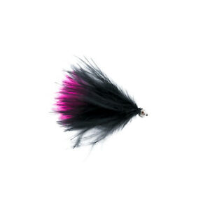 Cats Whisker Black And Pink Barbless X3 Size 10 - Dragonflies